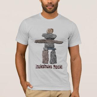 Le Haida d'Inukshuk lapide le T-shirt de Natif