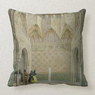 Le Hall de l'Abencerrages, Alhambra, Granad Coussin Décoratif