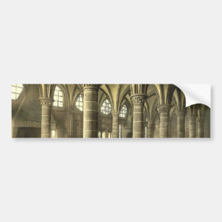 Le hall des chevaliers, St Michel, cru de Mont de  Autocollant De Voiture