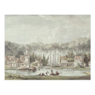 Le Hameau, petit Trianon, 1786 Carte Postale