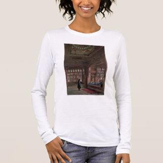 Le harem de cheik Sadat, le Caire, 1870 T-shirt À Manches Longues