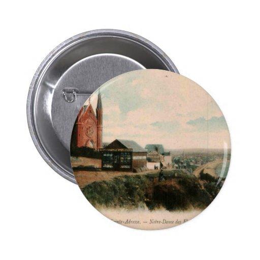 Le HAVRE - conception de carte postale de Sainte Badge Avec Épingle