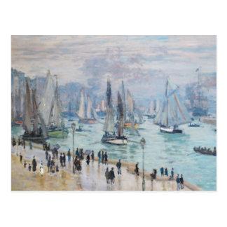 Le Havre, port   Monet de Bâteaux de Peche Sortant Carte Postale