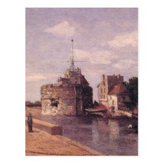 Le Havre, tour de Francais par Eugene Boudin Carte Postale
