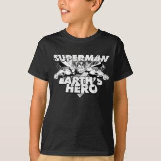 Le héros de la terre de Superman T-shirt