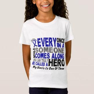 Le HÉROS VIENT LE LONG 1 T-shirts d'oncle CANCER