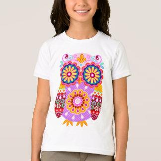 Le hibou génial badine la chemise t-shirt