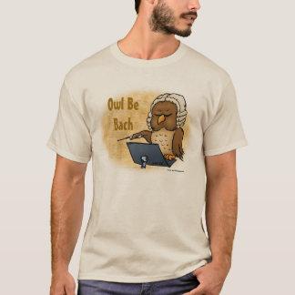 Le hibou soit T-shirt drôle de Bach
