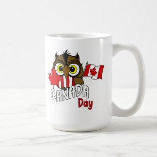 Le hibou vous voient tasse de jour du Canada