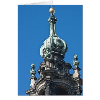 Le hofkirche (église de la cour) Dresde 2 Cartes