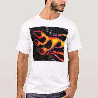 Le hot rod flambe le T-shirt
