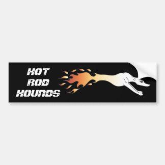 Le hot rod traque l'adhésif pour pare-chocs autocollant pour voiture