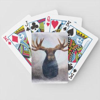 Le Hudson les orignaux Cartes À Jouer