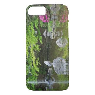 Le Japon, Kyoto. Héron dans le feuille vert frais Coque iPhone 7