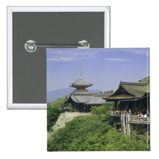 Le Japon, Kyoto, la vue du temple de Kiyomizu Badge