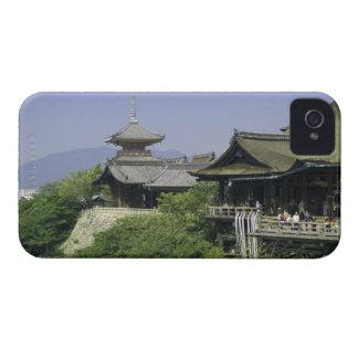 Le Japon, Kyoto, la vue du temple de Kiyomizu Coque iPhone 4
