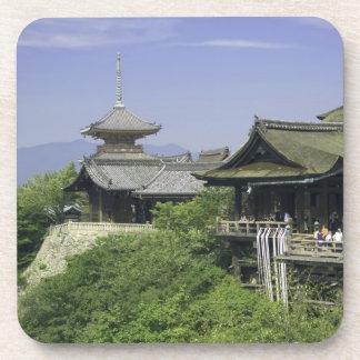 Le Japon, Kyoto, la vue du temple de Kiyomizu Dessous-de-verre