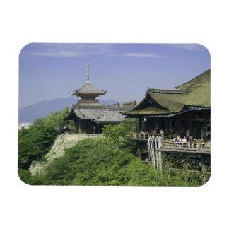 Le Japon, Kyoto, la vue du temple de Kiyomizu Magnets Rectangulaire