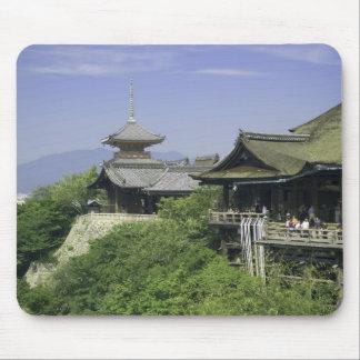 Le Japon, Kyoto, la vue du temple de Kiyomizu Tapis De Souris