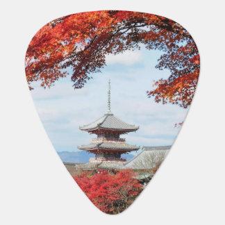 Le Japon, Kyoto. Temple de Kiyomizu dans la Médiators