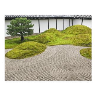 Le Japon, Kyoto, temple de Tofukuji, jardin de Carte Postale