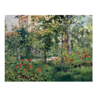 Le jardin chez Bellevue, 1880 Cartes Postales
