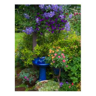 Le jardin conçoit dans notre jardin Sammamish, 2 Carte Postale