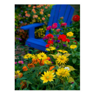 Le jardin conçoit dans notre jardin Sammamish, 3 Carte Postale