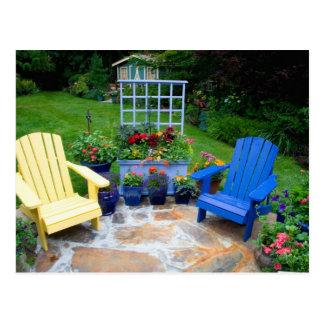 Le jardin conçoit dans notre jardin Sammamish, 4 Cartes Postales