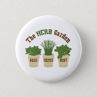 Le jardin de herbes aromatiques badge