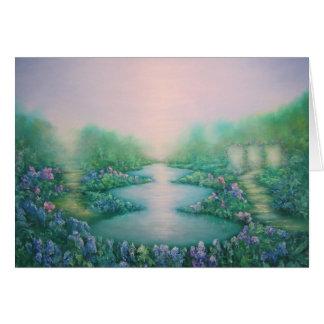 Le jardin de la paix 2011 carte de vœux