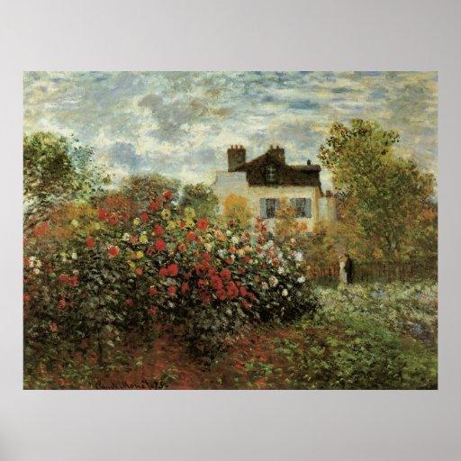 Le jardin de monet l 39 impressionisme de cru poster zazzle - Livre le jardin de monet ...