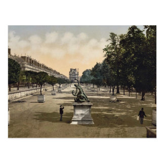 Le jardin de Tuileries, classique Photoc de Paris, Carte Postale