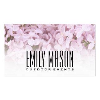 Le jardin des fleurs exquises d'Éden |, blanc se Carte De Visite Standard
