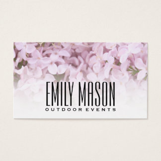 Le jardin des fleurs exquises d'Éden |, blanc se Cartes De Visite