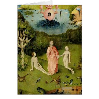 Le jardin des plaisirs terrestres 2 carte de vœux