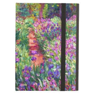 Le jardin d'iris par Claude Monet Coque iPad Air