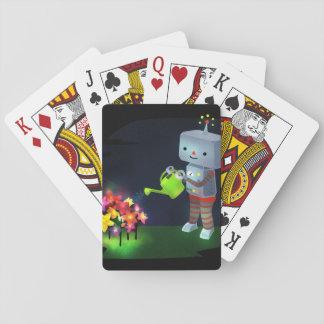 Le jardin du robot jeux de cartes