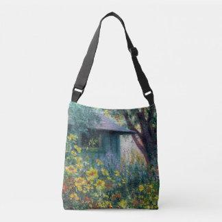 """Le """"jardin enchante"""" le sac fourre-tout"""