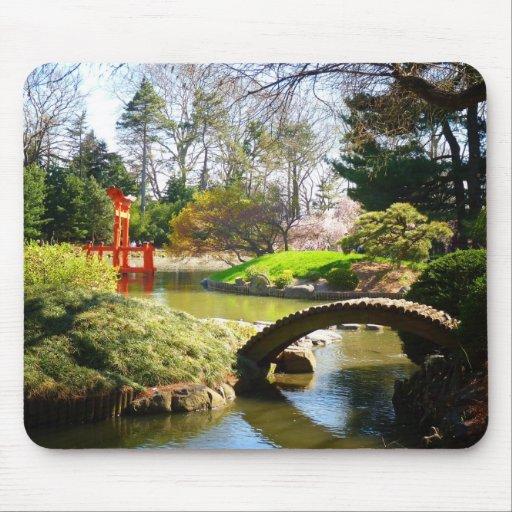 Le Jardin Japonais De Colline Et D 39 Tang Tapis De Souris Zazzle