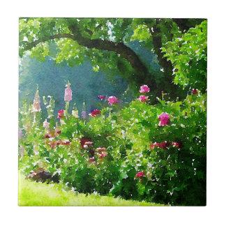Le jardin petit carreau carré