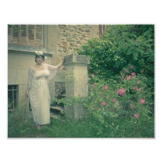 Le jardin secret 27.94x21.59cm photos d'art