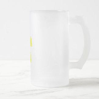 Le jaune I parlent le geek Mug À Café