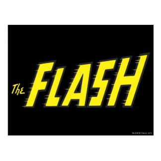 Le jaune instantané de logo carte postale