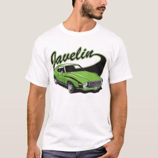 Le javelot de Jammin badine le T-shirt