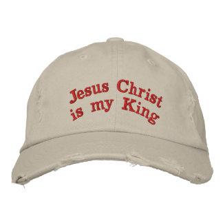 Le Jésus-Christ est mon roi Casquette Brodée