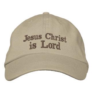 Le Jésus-Christ est seigneur Casquette Brodée