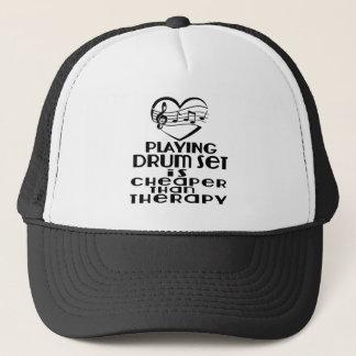 Le jeu de l'ensemble de tambour est meilleur casquette