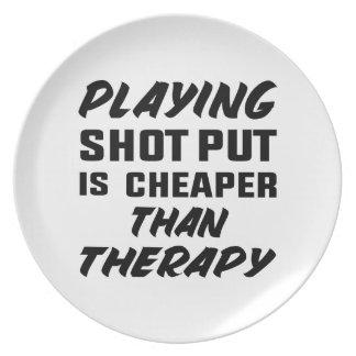 Le jeu du tir Put est meilleur marché que la Assiettes En Mélamine