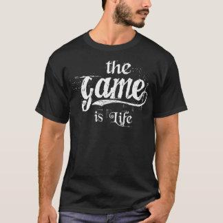 le jeu est la vie - hommes t-shirt